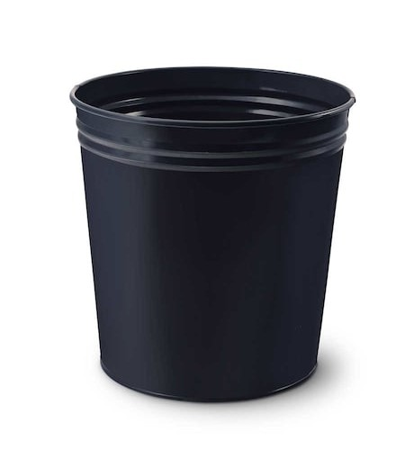 Mas Tam Kapalı Çöp Kovası Siyah