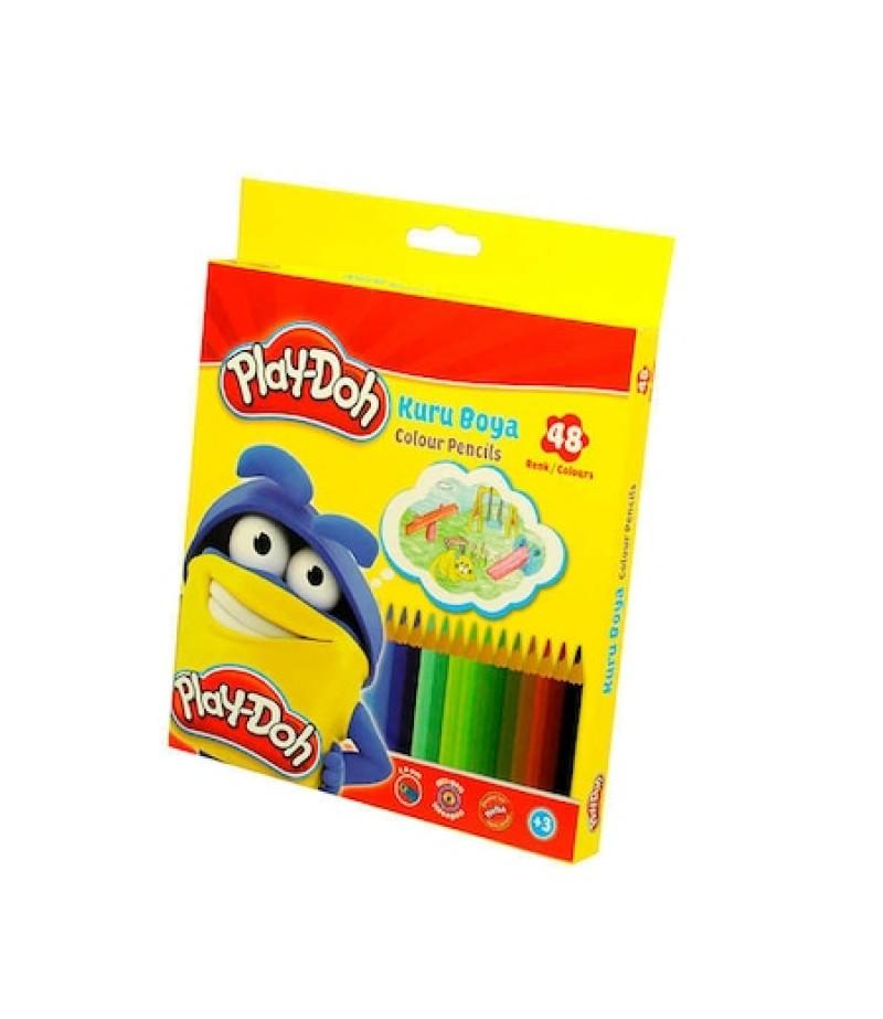 Play-Doh Altıgen Kuru Boya 48 Renk