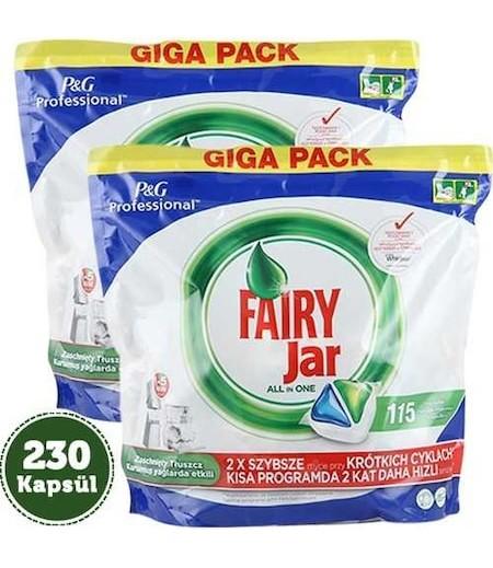 Fairy Jar Profesyonel Tablet 115li P&G x 2 Paket