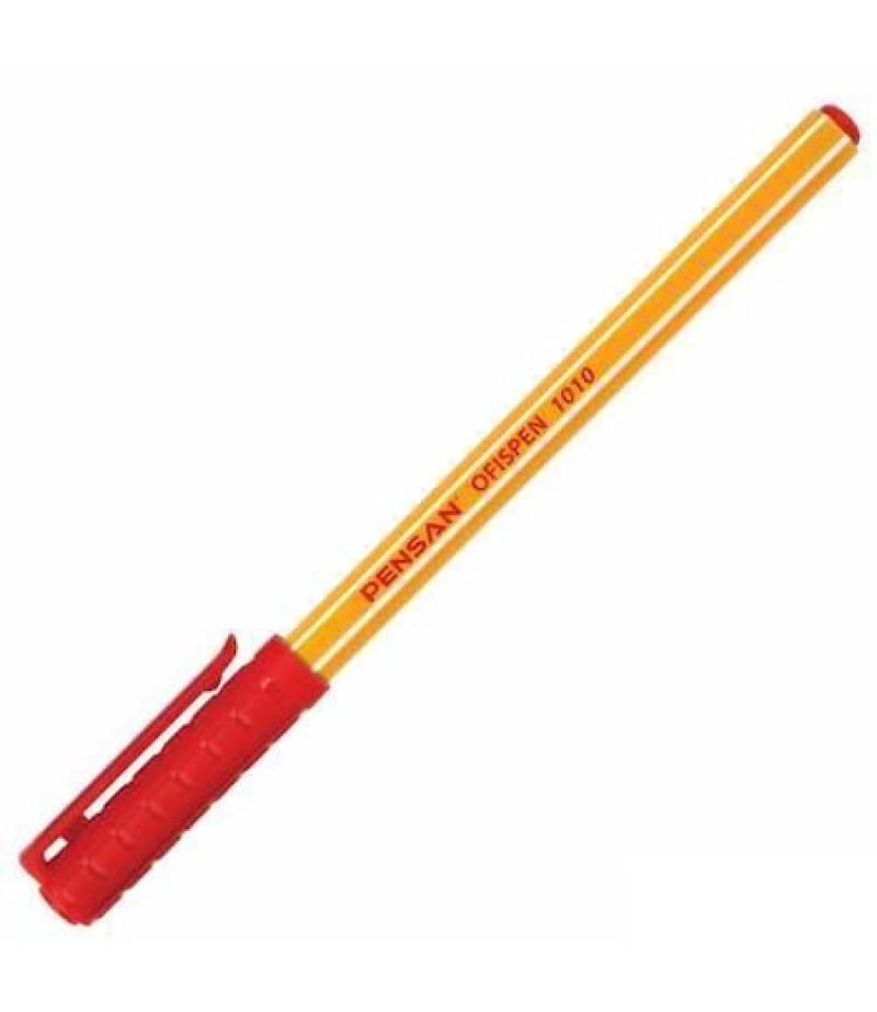Pensan Ofispen Tükenmez Kalem  Kırmızı