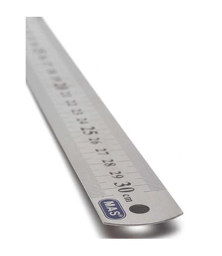 Mas Çelik Cetvel 30cm