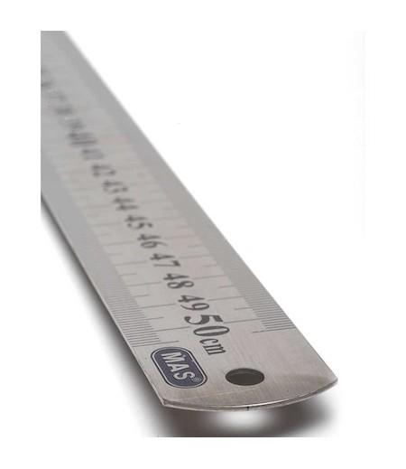 Mas Çelik Cetvel 50cm