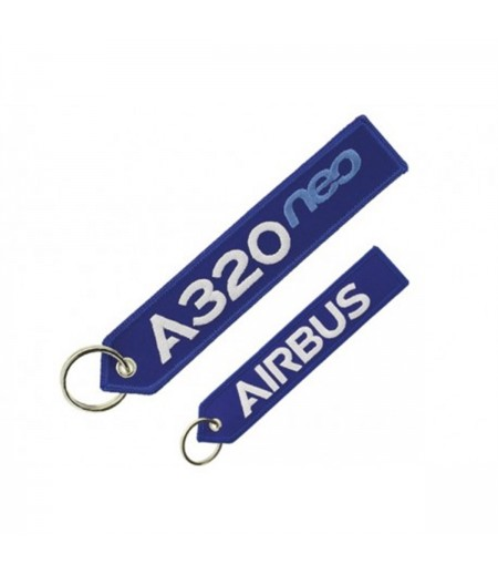 A320Neo Mavi Remove Before Flight Anahtarlık