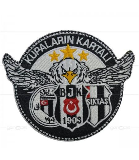 Beşiktaş Kupaların Kartalı Patch