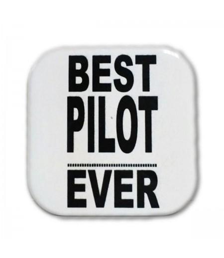 Best Pilot Ever Bardak Altlığı
