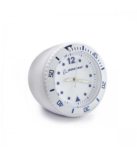 Beyaz Mini Masa Saati