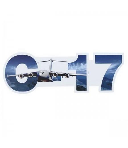 C-17 Globemaster III Die-Cut Sticker