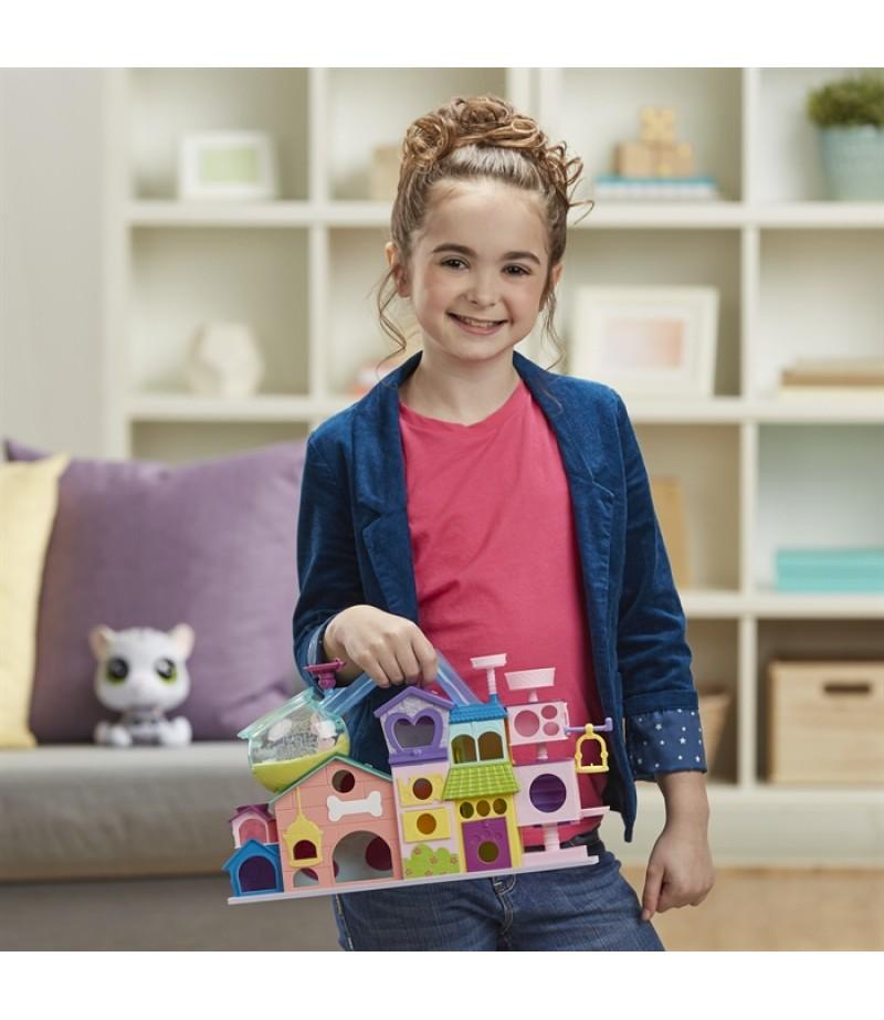 Hasbro C1158 Pets Shop Miniş Apartmanı-4