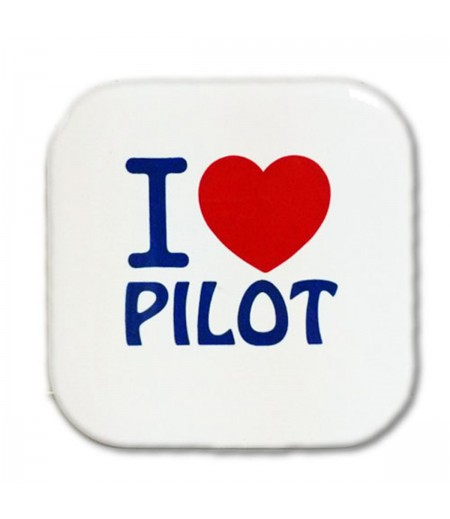 I love Pilot Bardak Altlığı
