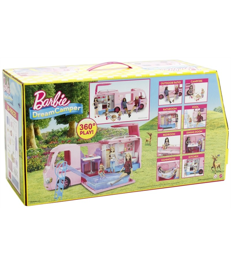 Barbie Muhteşem Karavan