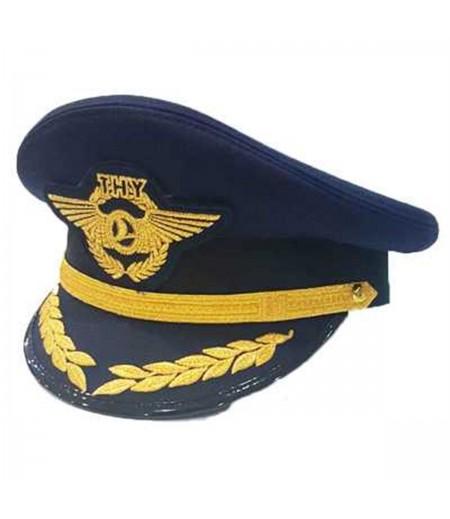 Pilot Sapkası Kaptanlar için