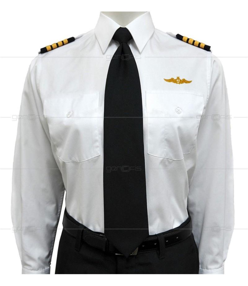Uzun Pilot Gömleği